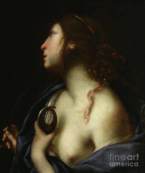 Sicily Painting - Saint Agatha by Francesco Furini