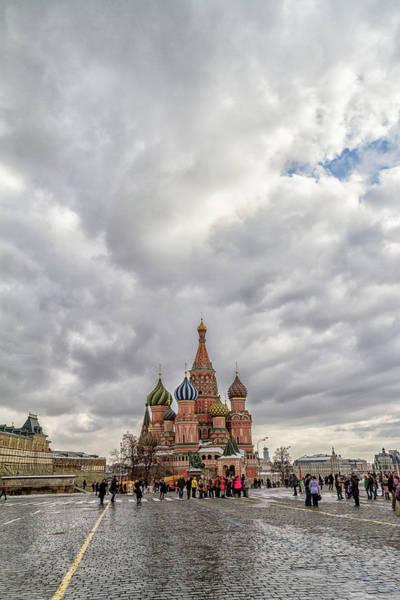 Wall Art - Photograph - Saint Basil's Cathedral Moscow by Stelios Kleanthous