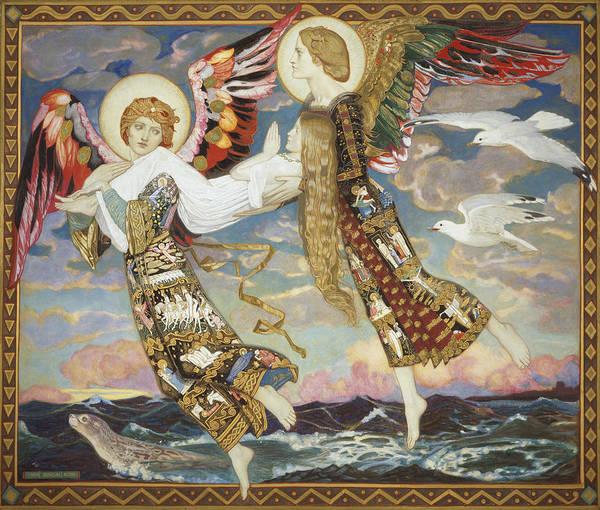 Wall Art - Painting - Saint Bride by John Duncan