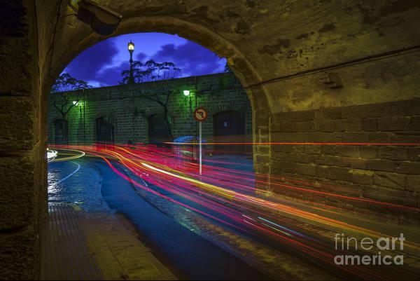 Photograph - Saint Charles Walls Tunnel Cadiz Spain by Pablo Avanzini