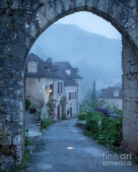 Photograph - Saint Cirq Lapopie Entry Gate by Brian Jannsen