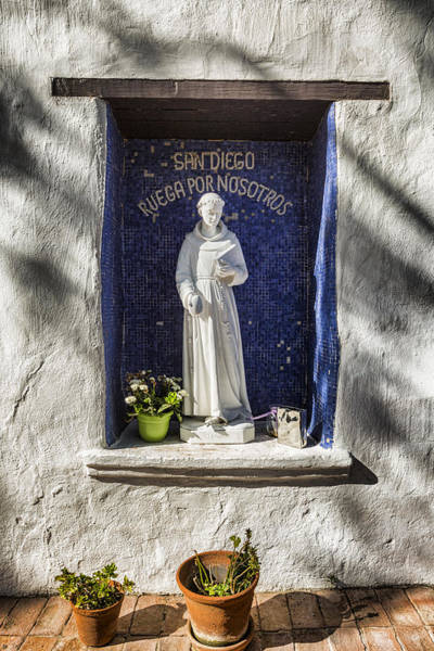 Wall Art - Photograph - Saint Didacus Alcove by Stephen Stookey