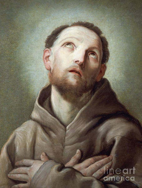 Francis Painting - Saint Francis  by Guido Reni