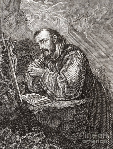 Assisi Painting - Saint Francis Of Assisi by Lodovico Cardi