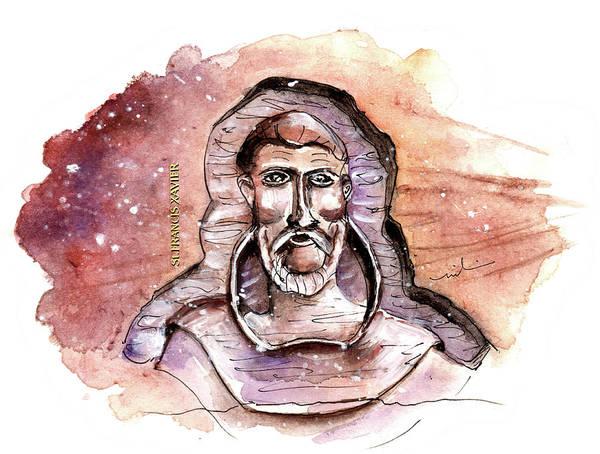 Painting - Saint Francis Xavier From Richmond by Miki De Goodaboom