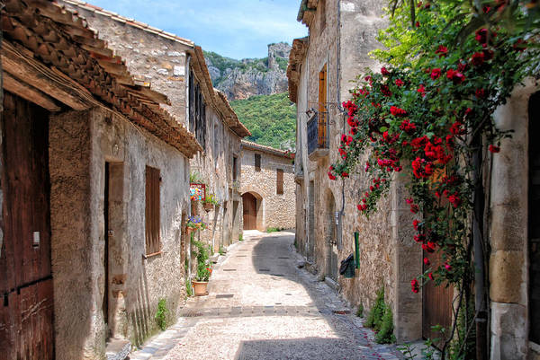 Wall Art - Photograph - Saint-guilhem-le-desert by Joachim G Pinkawa