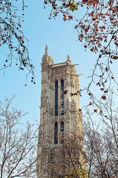 Wall Art - Photograph - Saint-jacques Tower by Melanie Alexandra Price