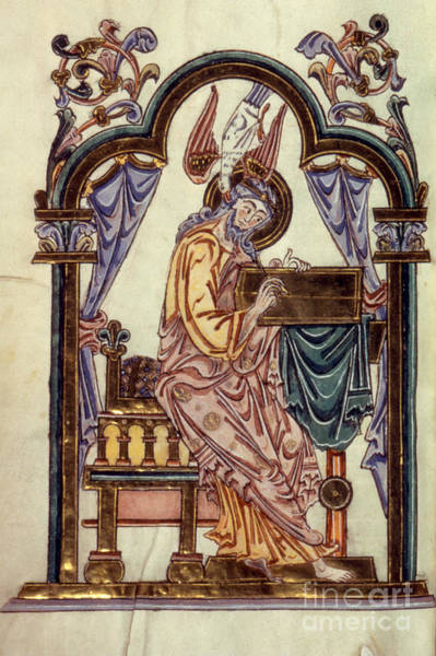 Painting - Saint John by Granger
