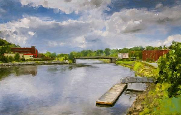 Digital Art - Saint John River Painting by Eduardo Tavares