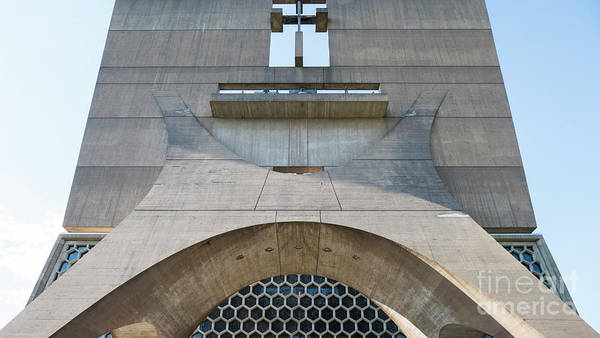 Photograph - Saint John's University Abbey Simplicity by Wayne Moran