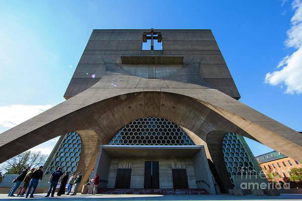 Photograph - Saint John's University Abbey Spring Morning by Wayne Moran