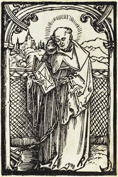 Drawing - Saint Leonard by Albrecht Durer