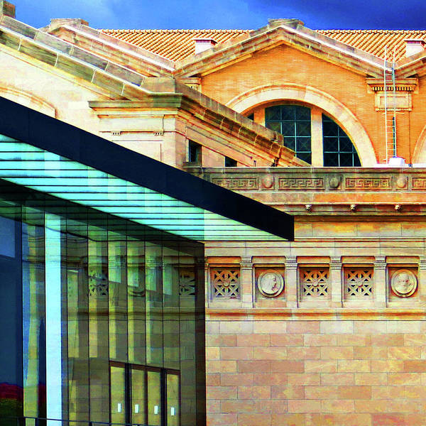 Photograph - Saint Louis Art Museum Architecture by Patrick Malon