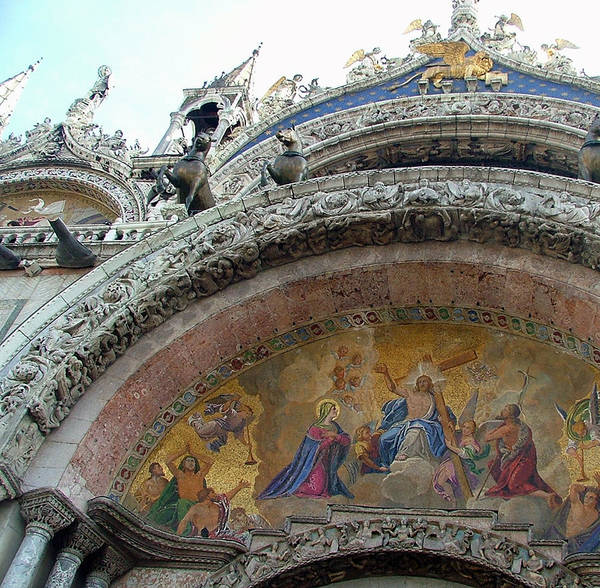 Wall Art - Photograph - Saint Marks San Marco by Mindy Newman