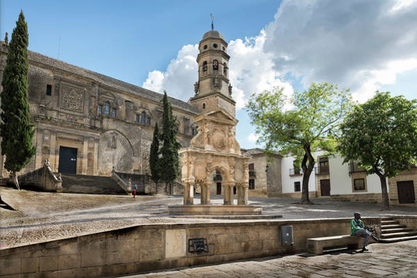 Wall Art - Photograph - Saint Mary Square In Baeza by RicardMN Photography