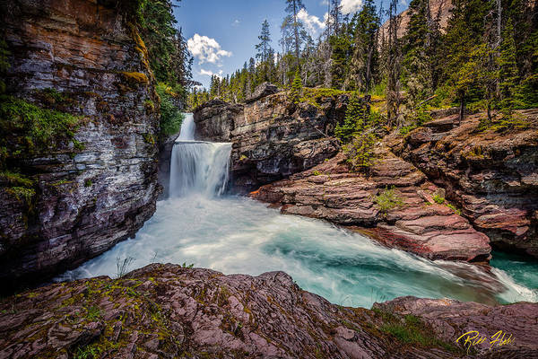 Photograph - Saint Mary's Falls by Rikk Flohr