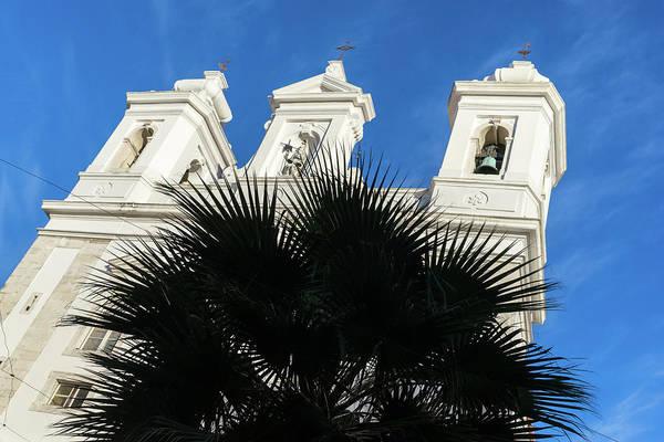 Photograph - Saint Michael Church Deep In The Crux Of Alfama Lisbon by Georgia Mizuleva