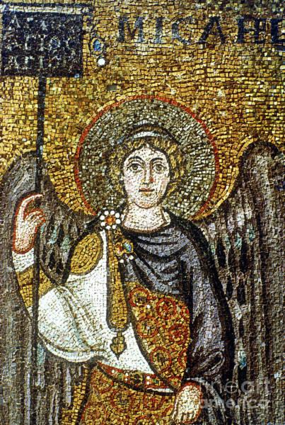 Wall Art - Photograph - Saint Michael by Italian School