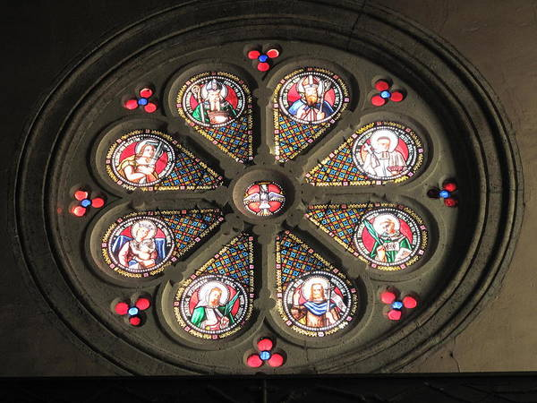 Glass Art - Saint-nicolas Church by Photographer Tangopaso