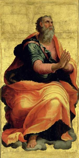 Apostles Wall Art - Painting - Saint Paul The Apostle by Marco Pino
