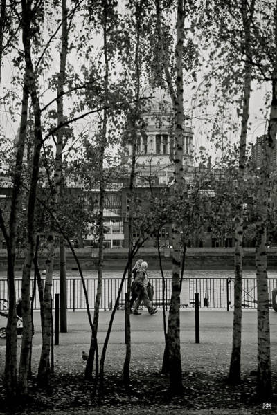 Photograph - Saint Pauls And Thames by John Meader