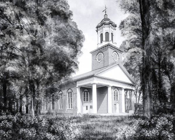 Photograph - Saint Paul's Church - Historic Augusta by Mark Tisdale