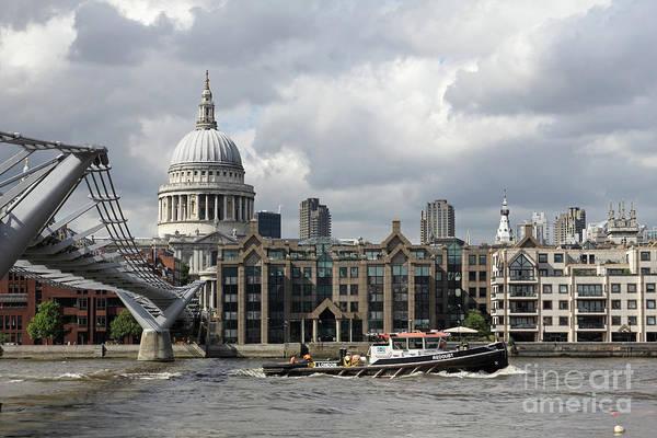 Photograph - Saint Pauls London Uk by Julia Gavin