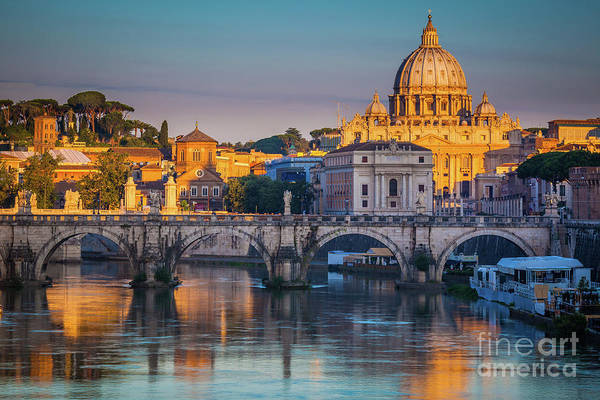 Wall Art - Photograph - Saint Peters Basilica by Inge Johnsson