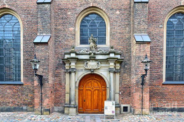 Wall Art - Photograph - Saint Peter's Church, Copenhagen, Denmark by Catherine Sherman