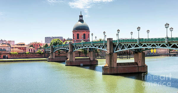 Photograph - Saint-pierre Bridge In Toulouse by Elena Elisseeva