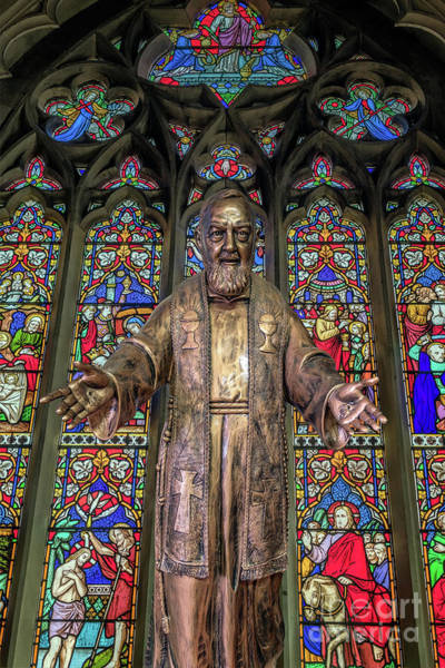 Wall Art - Photograph - Saint Pio by Adrian Evans