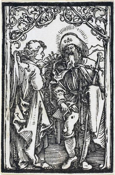 Drawing - Saint Roch by Albrecht Durer