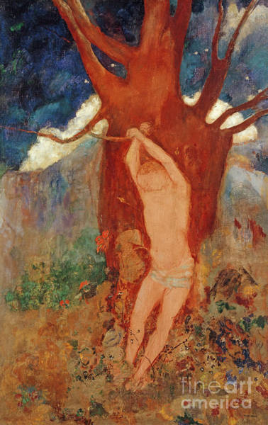 Wall Art - Painting - Saint Sebastian, 1910 by Odilon Redon