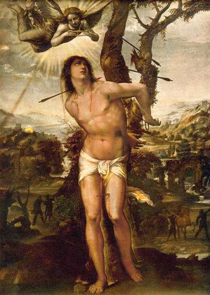 Painting - Saint Sebastian by Il Sodoma