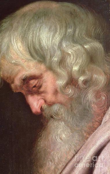 Wall Art - Painting - Saint Simon The Zealot by Peter Paul Rubens
