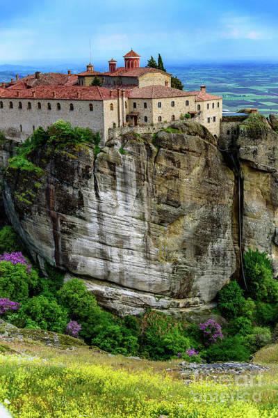 Photograph - Saint Stephen's Monastery In Meteora, Greece by Global Light Photography - Nicole Leffer