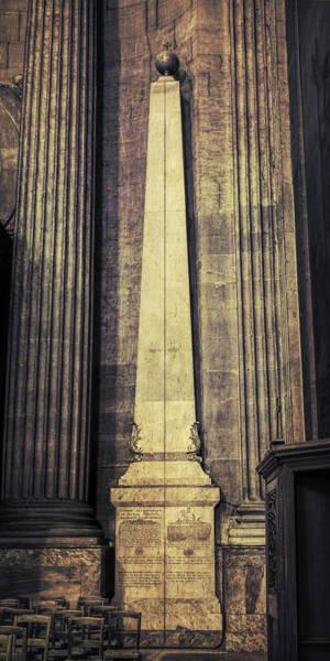 Photograph - Saint Sulpice Gnomon by Joan Carroll