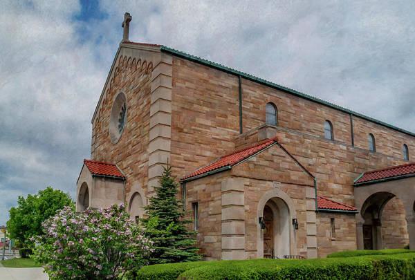 Photograph - Saint Thomas Aquinas Church 15233 by Guy Whiteley