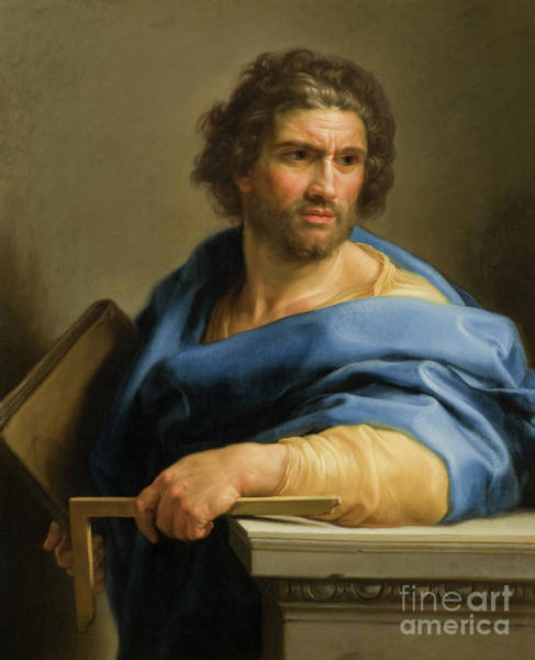 Wall Art - Painting - Saint Thomas by Pompeo Girolamo Batoni