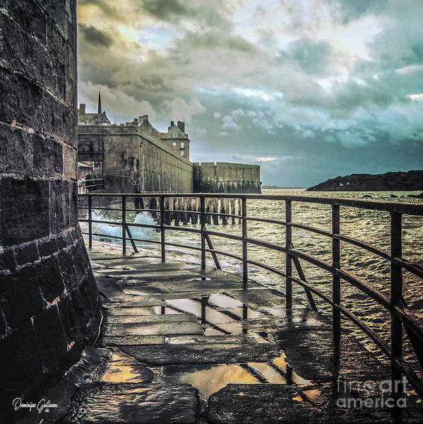 Photograph - Saint-thomas's Gate In Saint-malo by Dominique Guillaume