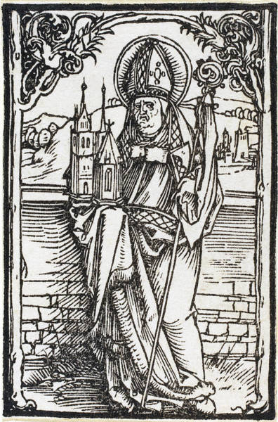 Drawing - Saint Wolfgang by Albrecht Durer