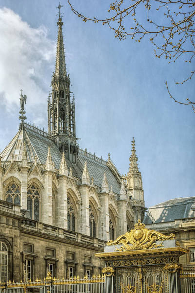Photograph - Sainte Chapelle Paris by Joan Carroll