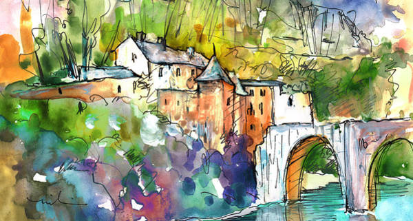 Painting - Sainte Enimie 02 by Miki De Goodaboom