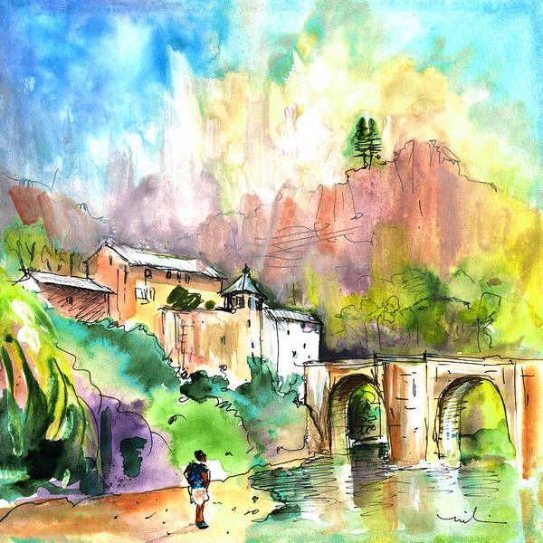 Painting - Sainte Enimie 03 by Miki De Goodaboom