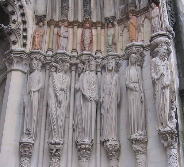 Photograph - Saints At St. John The Divine by Karen J Shine