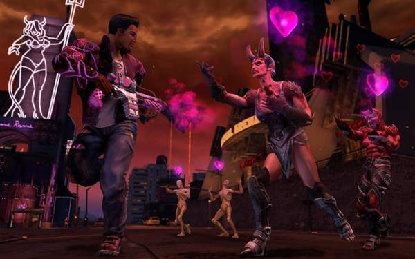 Celebrity Digital Art - Saints Row Gat Out Of Hell by Maye Loeser