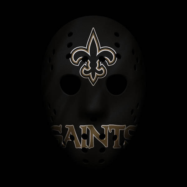 Wall Art - Photograph - Saints War Mask 3 by Joe Hamilton
