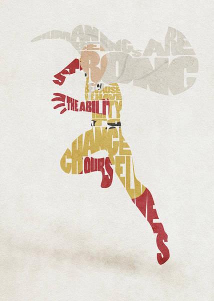 Digital Art - Saitama Typography Art by Inspirowl Design