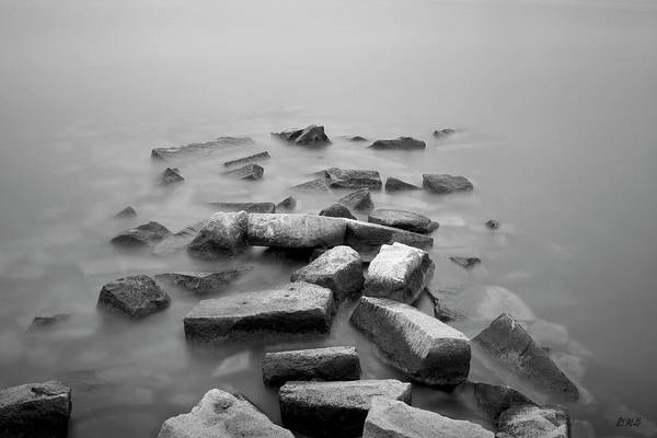 Photograph - Sakonnet River I Bw by David Gordon