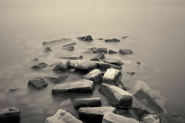 Photograph - Sakonnet River I Toned by David Gordon